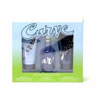 Liz Claiborne Curve EDT Spray 1.7 Spr/Body Lotion 2.5/Shower Gel2.5 Size: Set