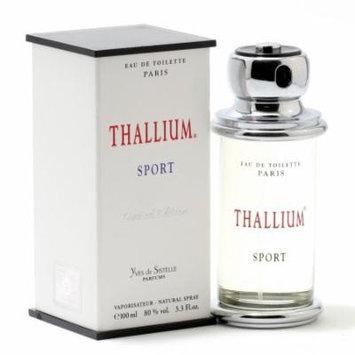 THALLIUM SPORT MEN by JACQUESEVARD - EDT SPRAY 3.3 OZ