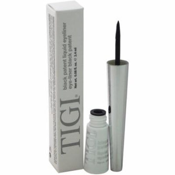 TIGI for Women Patent Liquid Eyeliner, Black 0.08 oz