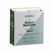 Caring Woven Sterile Gauze Sponges - 2
