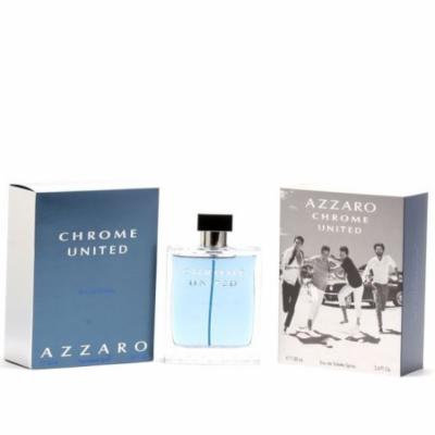 Azzaro Chrome United EDT Spray Size: 3.4 oz