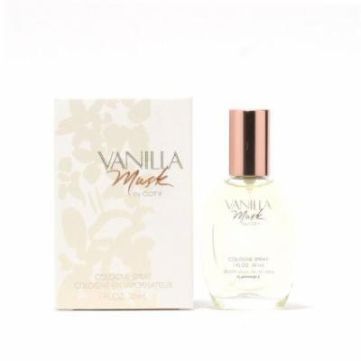VANILLA MUSK LADIES by COTY- COLOGNE SPRAY 1 OZ