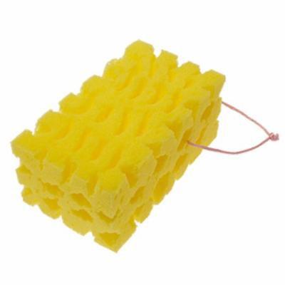Mini Yellow Car Auto Washing Cleaning Sponge Block