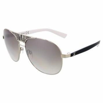 Just Cavalli JC 509 20B Silver Aviator Sunglasses