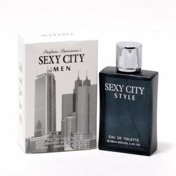 SEXY CITY STYLE MEN- EDT SPRAY 3.4 OZ
