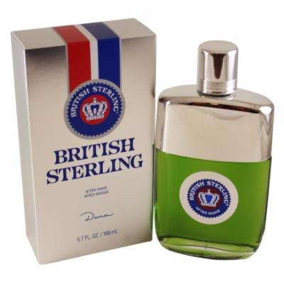British Sterling Aftershave 5.7 Oz / 168 Ml for Men by Dana