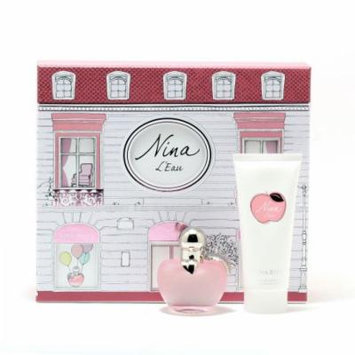 Nina L'Eau Ladies By Nina Ricci - 1.7 EDT Sp/3.4 Body Lotion SET