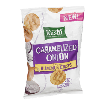 Kashi Hummus Crisps Caramelized Onion
