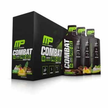 MusclePharm Combat Pro-Gel, Variety Pack, 12 Packets