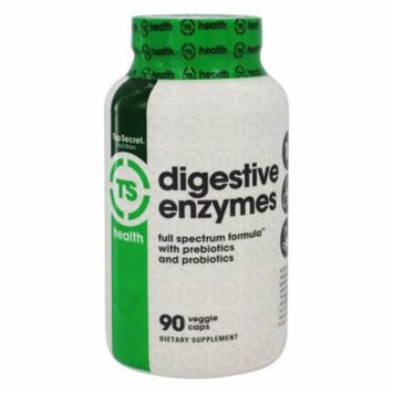 Top Secret Nutrition - Digestive Enzymes - 90 Vegetarian Capsules