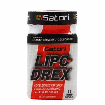 iSatori Lipo-Drex, 10 Capsules
