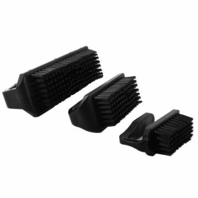 XXL XL L Size U Shape Black PCB Anti Static Brush Dust Cleaning Tool 3 Pcs