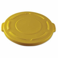 Rubbermaid Round Flat Top Lid, for 20-Gallon Round Brute Containers, 19 4/5