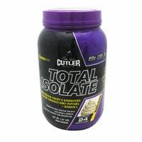 Cutler Nutrition Total Isolate Vanilla Cream - 24 Servings