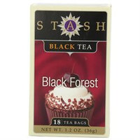 Stash Premium Tea Black Tea, Black Forest, 18 bags
