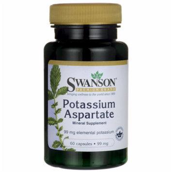 Swanson Potassium Aspartate 99 mg 60 Caps