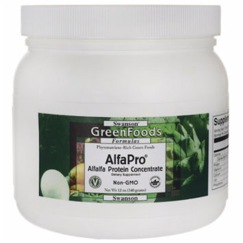 Swanson Alfapro Non-Gmo Alfalfa Protein Concentr 12 oz (340 grams) Pwdr