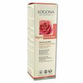 Logona - Dry & Sensitive Skin Care, Rose Aloe Cleansing Milk, 4.2 oz