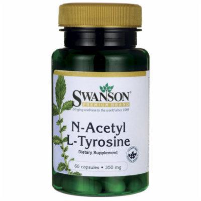 Swanson N-Acetyl L-Tyrosine 350 mg 60 Caps