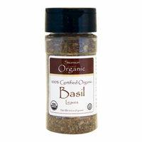 Swanson 100% Certified Organic Basil Leaves 0.6 oz (17 grams) Pwdr
