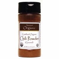 Swanson Certified Organic Chili Powder (Ground) 1.9 oz (53.9 grams) Pwdr