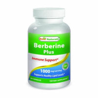 Best Naturals Berberine Plus 1000 Mg per Serving 60 Capsules