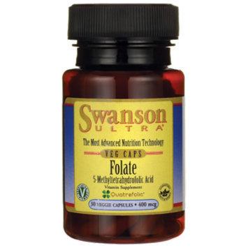 Swanson Folate (5-Methyltetrahydrofolic Acid) 400 mcg 30 Veg Caps