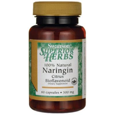 Swanson 100% Natural Naringin 500 mg 60 Caps