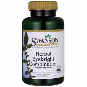 Swanson Herbal Eyebright Combination 100 Caps