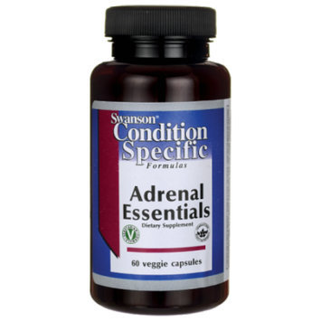 Swanson Adrenal Essentials 60 Veg Caps