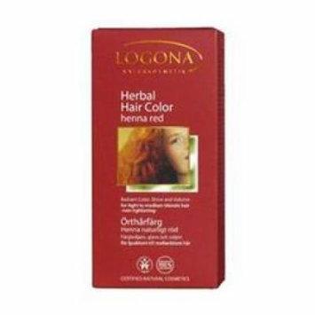 Logona - Hair Color, Henna Red, 3.5 oz