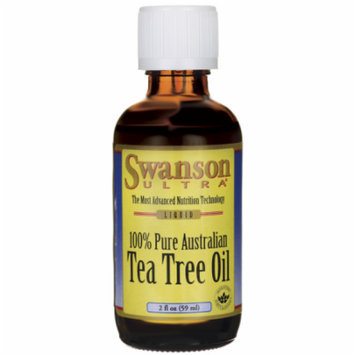 Swanson Tea Tree Oil 2 fl oz (59 ml) Liquid
