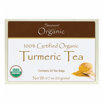 Swanson Turmeric Tea 20 Bag(S)