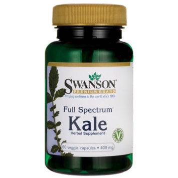 Swanson Full Spectrum Kale 400 mg 60 Veg Caps