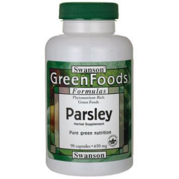 Swanson Parsley 650 mg 90 Caps