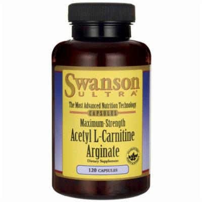 Swanson Maximum-Strength Acetyl L-Carnitine Argi 120 Caps