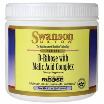 Swanson D-Ribose with Malic Acid Complex Powder 12 oz (340 grams) Pwdr