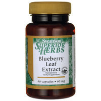 Swanson Blueberry Leaf Extract 60 mg 90 Caps