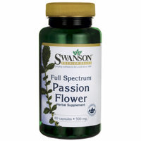 Swanson Full-Spectrum Passion Flower 500 mg 60 Caps