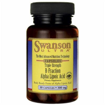 Swanson Triple Strength R-Fraction Alpha Lipoic 300 mg 30 Caps