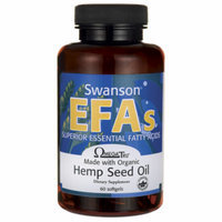 Swanson Hemp Seed Oil (Omegatru) 60 Sgels