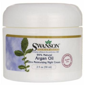 Swanson Argan Oil Ultra Moisturizing Night Cream 2 fl oz (59 ml) Cream