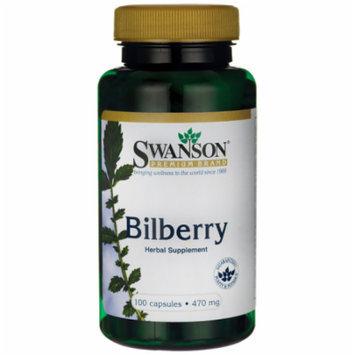 Swanson Bilberry Fruit 470 mg 100 Caps