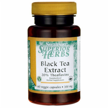 Swanson Black Tea Extract 300 mg 60 Veg Caps
