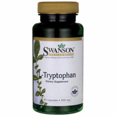 Swanson L-Tryptophan 500 mg 60 Caps