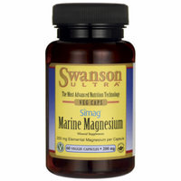 Swanson Simag Marine Magnesium 200 mg Elemental 200 mg 60 Veg Caps