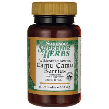 Swanson Wildcrafted Camu Camu Berries 500 mg 60 Caps