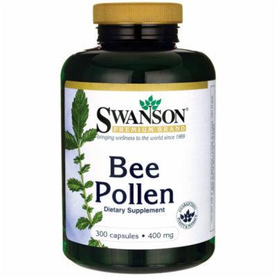 Swanson Bee Pollen 400 mg 300 Caps