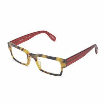 Scojo New York Prince Street 2.00 Tortoise Frame Red Temple Reading Glasses