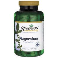 Swanson Magnesium 200 mg 250 Caps